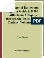 Dictionary of Battles