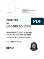 British Council English for Modern Policing