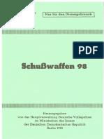 Schusswaffen 98 , DDR 1950.pdf