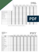 Production Sheet Bb