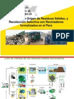 3.4.4Segregación en Origen de Residuos Sólidos en Perú. Experiencia de Éxito. Grupo Ciudad Saludable