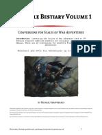 Elsir Vale Bestiary Volume 1