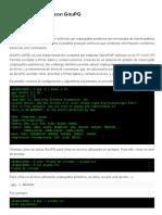 Encriptar Archivos Con GPG