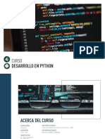 Desarrollo en Python SB2019