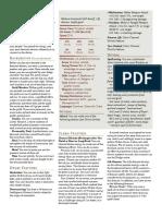 D&D Sheet