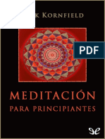 Meditacion Para Principiantes - Jack Kornfield