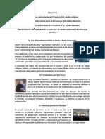 """Noticias 3° """"C"""""""