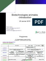 Biotechnologies animales