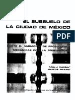 subsuelo de la ciudad de mexico
