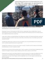 24-12-2018 Visita el gobernador las 150 casas que se quemaron y el albergue en Zihuatanejo; ofrece ayuda.