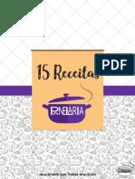15 receitas