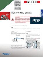 REAR Parking Brakes En