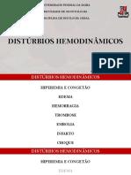 Distúrbos Hemodinâmicos