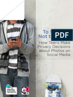 Teens & Social Media Privacy