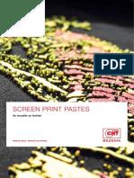 Screen Print Pastes d En