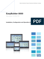MANUAL SOFTWARE EASYBUILDER