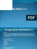 Dasar-Dasar (Borland C++)
