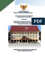 Standar Satuan Harga Kabupaten Ta 2017pdf