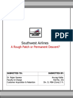 SOUTHWEST AIRLINES A ROUGH PATCH OR PERMANENT DESCENT.doc