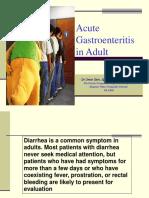 Acute Gastroenteritis c