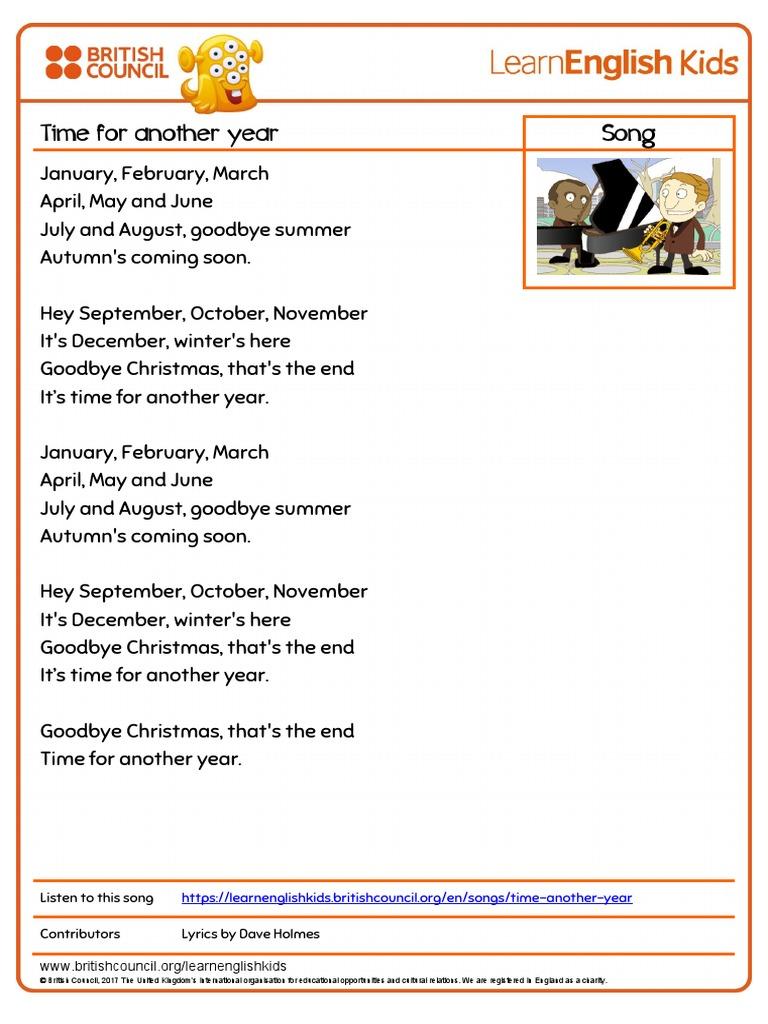 November april lyrics