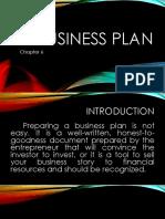 Business Plan Chap 6