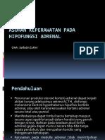 8. Asuhan Keperawatan Pada Hipofungsi Adrenal