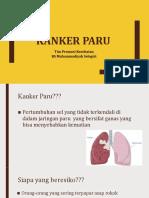 Kanker paru PKRS
