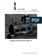 Bushnell's AR Optics First Strike 2.0