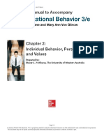 M Organizational Behavior 3rd Edition by McShane Glinow Solution Manual