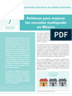 INEE-MX 2018 Doc política educativa 7-escuelas-multigrado