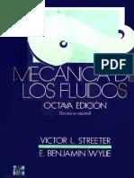 Mecánica de los fluidos  8va Edición - Victor L. Streeter-V2.pdf