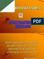 Investigacion de Mercados Epn 2012