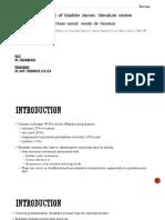 Surgical Management of Bladder Stones