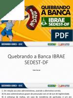 Ivan Lucas - Quebrando a Banca IBRAE - SEDEST-DF