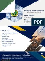 Manajemen Perkreditan(New)