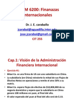BADM 6200 Ej Cap 1 Visión de La Administración de Las Finanzas Internacionales Nov 2018