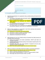SITXFSA004 Assessment a Multiple-choice V1-0 (1)