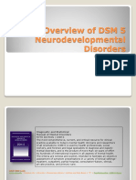 01 Overview of DSM 5 Neurodevelopmental Disorders