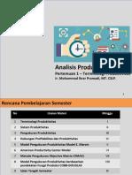 Analisisn Produktivitas Terminologi