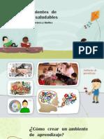 Creando Ambientes de aprendizajes saludables