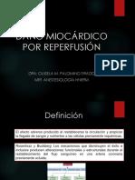 Daño Miocárdico Por Reperfusión
