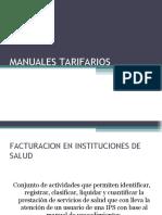 MANUALES TARIFARIOS