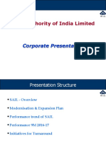 SAIL Corporate Presentation
