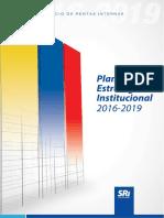 PLAN ESTRATÉGICO INSTITUCIONAL 2016-2019 SRI.pdf