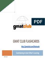 'GMAT Club Flashcards - Preparation Au GMAT.pdf'