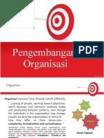 326578894 Pengembangan Organisasi PDF