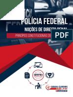 Noções de direito penal - Policia Federal