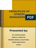 Principles of Stress Management