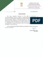 6455530 UGC Public Notice Reg UGC Regulations 2018